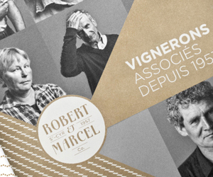 livre brochure design graphique catalogue vignerons associés hirundi studio robert et marcel paris