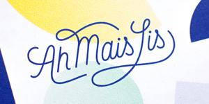 création logo logotype lettering carte visite identité visuelle hirundi studio paris ah mais lis