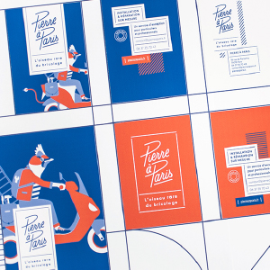 identité de marque identité visuelle création logo logotype webdesign print hirundi studio artisanat pierre à paris