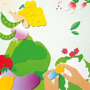 illustration papier découpé voeux print carton invitation hirundi studio de design graphique Baluchon